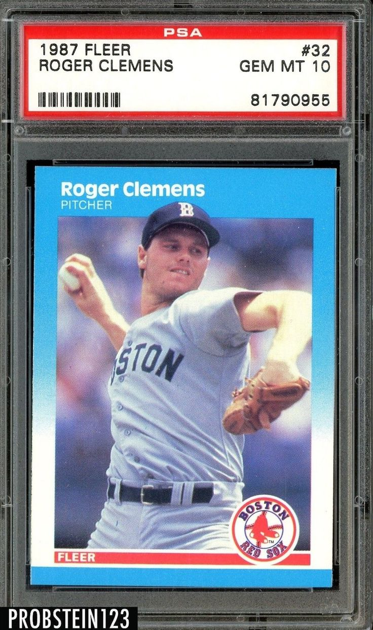 Park Art My WordPress Blog_Roger Clemens Rookie Card Ebay