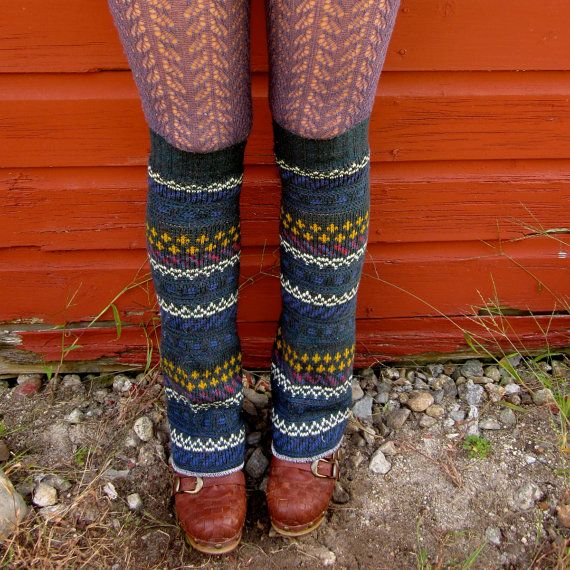 Upcycled Leg Warmers.Upcycling Warmers, Legs Warmers, Sweaters Legs, Old Sweater, Upcycling Legs, Green Fair, Fair Isle, Isle Sweaters, Leg Warmers