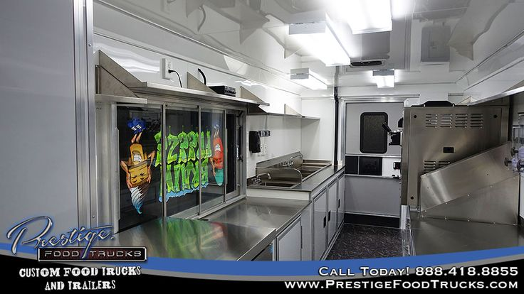 Brain Freeze Food Truck | Custom Food Truck Builder & Manufacturer | Food Trucks For Sale | Concession Trailers | Finance, Buy & Lease Food Trucks