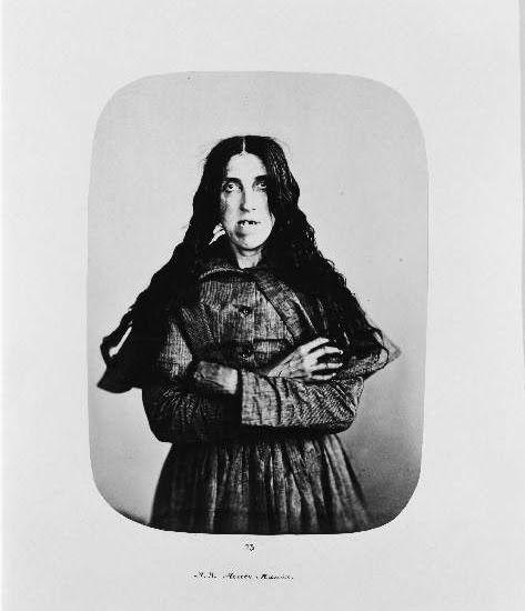 Bedlam patients taken in the 1800s by Henry Hering