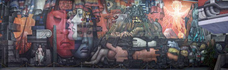 Mural panoramico - Presencia de América Latina - Wikipedia, the free encyclopedia