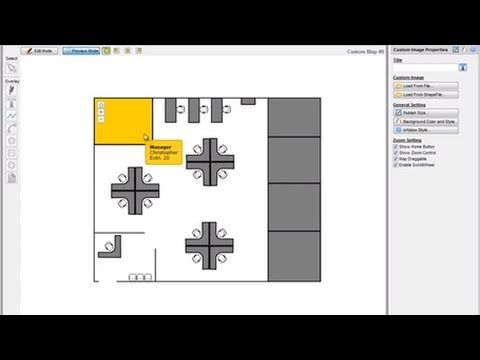 47 best dynamic images images on pinterest maps cards for Interactive office floor plan