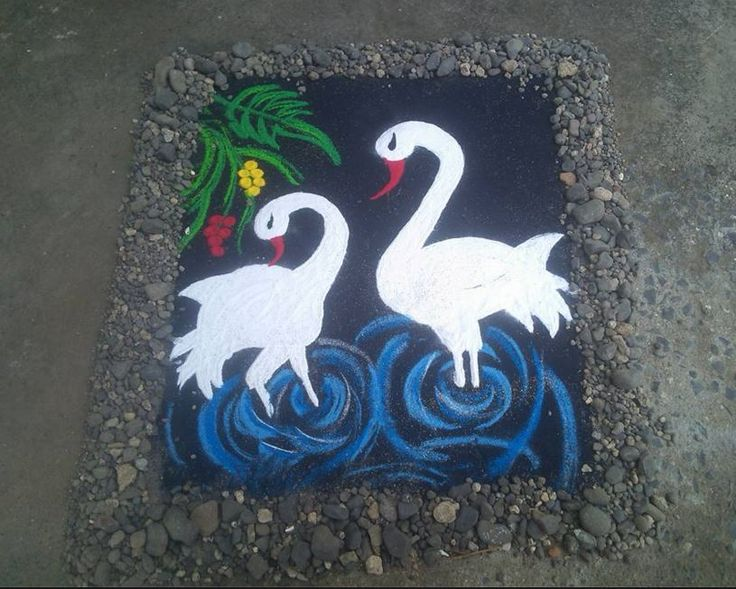 3D Rangoli Designs for Competition