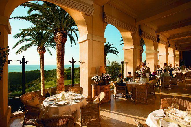 Andrea at Pelican Hill Resort in Newport Beach