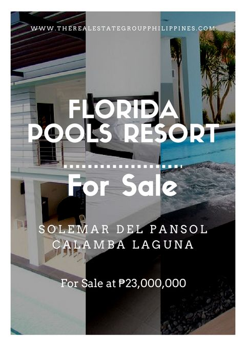 FOR SALE! FLORIDA POOLS RESORT Fully Furnished Rooms: 6 with own AC Units and Toilet & Bath For 23000000  http://ift.tt/2pTDlIg