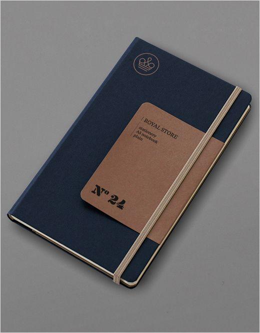 Print Design / Royal Store Notebook by Jarek Kowalczyk