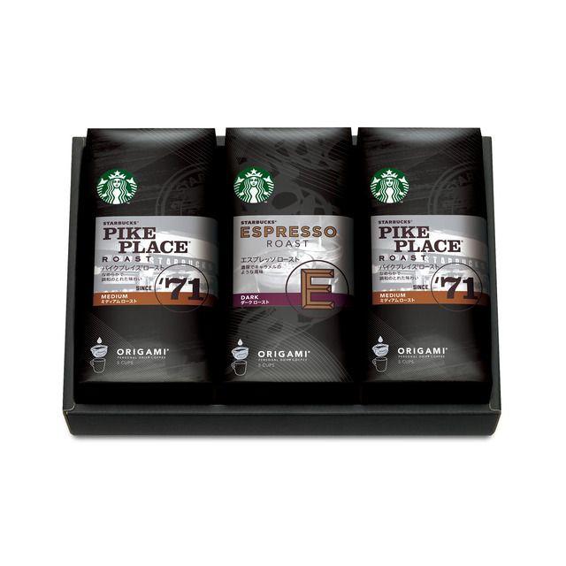 スターバックス コーヒー ジャパンのスターバックス オリガミ® パーソナルドリップ® コーヒー ギフト SBX-20Eについてご紹介します。