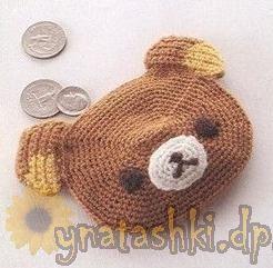 DIY Rilakkuma Purse - FREE Crochet Pattern / Tutorial (Chart)
