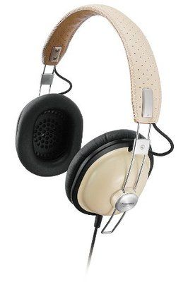 Panasonic cream retro headphones