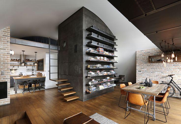 Unique Attic Loft Apartment with Hipster Modernity - Sofia, Bulgaria