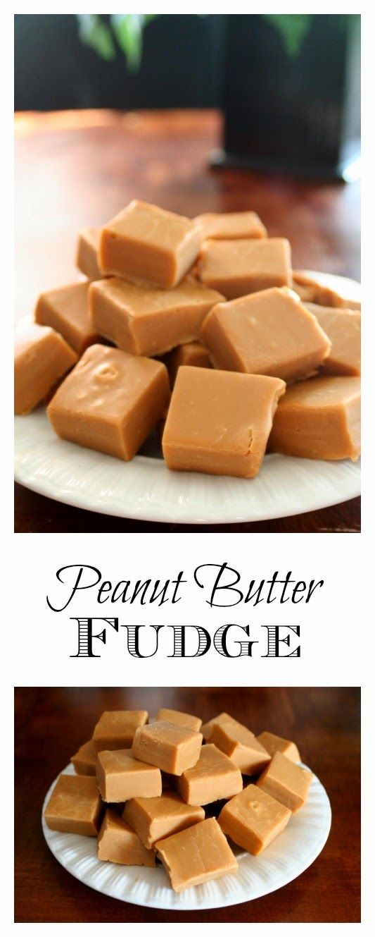 Peanut Butter Fudge - this recipe is so easy, it's foolproof | jordansonion.com