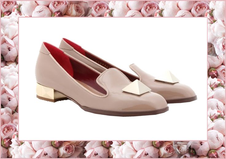 Die for Style: I wish...pale pink Valentino Slippers