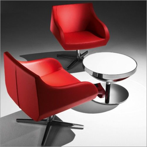 Modern Italian Living Room Furniture | Tonon Crystal Too Swivel Chair, Leather by Jackie Choi  Fresh range of #furnituredesign talian #living #room #furniture is just a click away. Watch out what is available online and tailor your available spaces with modern and designer furniture. For further information please phone us on 01223327463