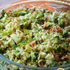 HOW TO MAKE AWESOME COLORFUL BROCCOLI SALAD WITH BACON