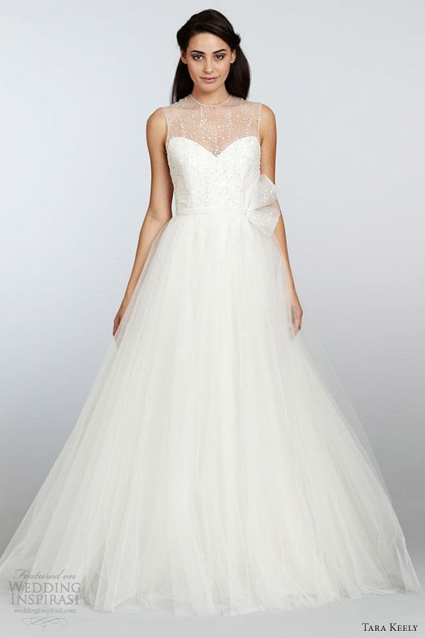 mariée, bride, mariage, wedding, robe mariée, wedding dress, white, blanc Tara Keely Spring 2013 bridal collection