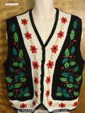 Cheap Christmas Sweater Vest with Ivy- for picture day