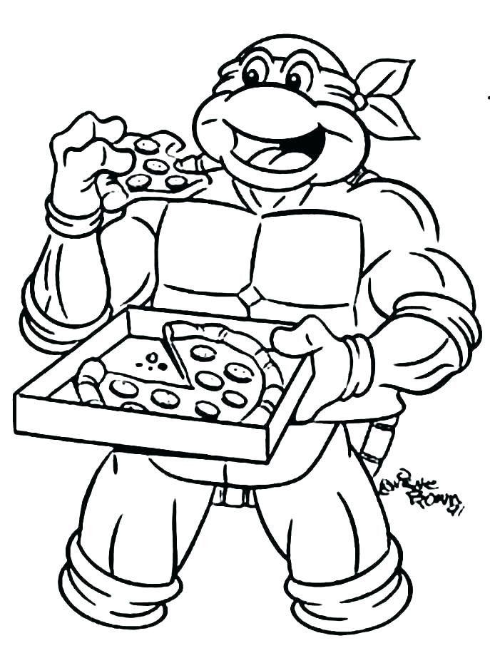 Teenage Mutant Ninja Turtle Face Coloring Page Youngandtae Com Ninja Turtle Coloring Pages Turtle Coloring Pages Cartoon Coloring Pages