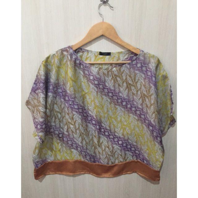 Saya menjual Atasan/blouse batik  viscose seharga Rp109.000. Dapatkan produk ini hanya di Shopee! https://shopee.co.id/imanggoethnic/258594978/ #ShopeeID