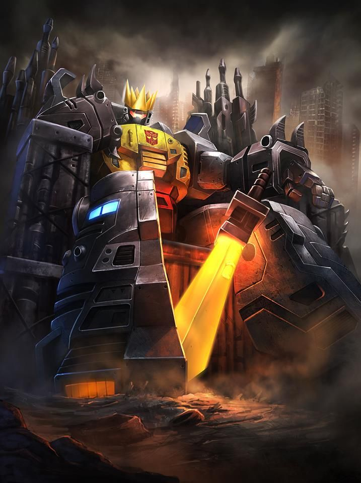 """guttamanation: """"The Dinobot Crown of Leadership: is a crown sometimes worn by Grimlock, apparently to signify his leadership of the Dinobots, or even the Autobots as a whole. It is gold and quite..."""