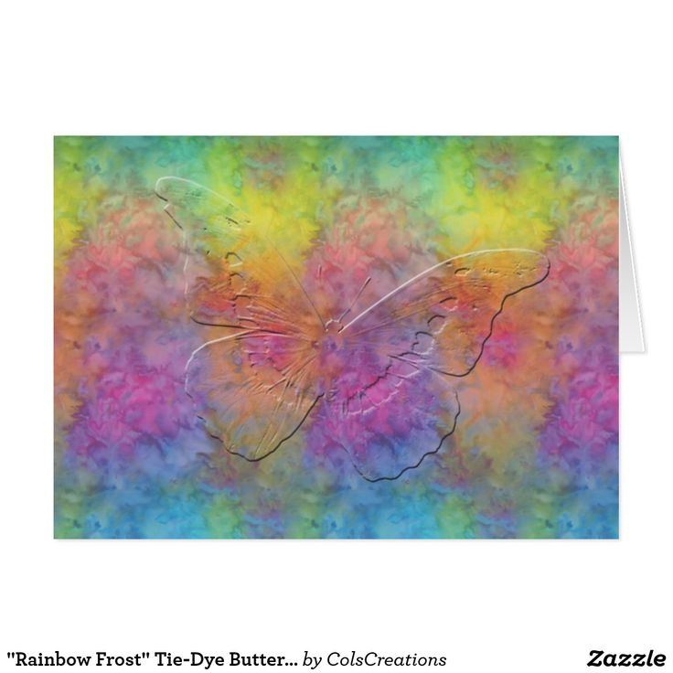 """Matching postcards, address labels, and postage stamps available in my shop's """"Rainbow Frost"""" Collection."""