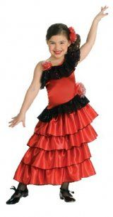 dance costumes for kids are great as they can be ballet disco rock - Can Can Dancer Halloween Costume