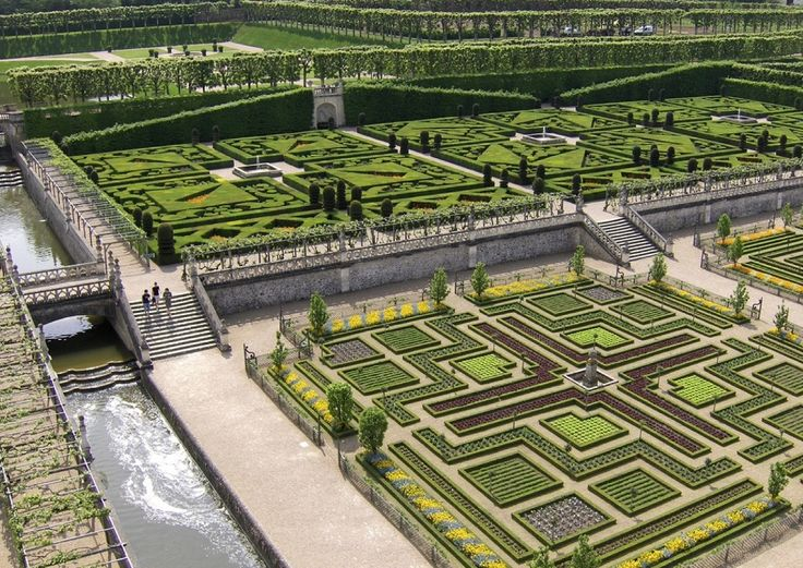 Lovely Palace of Versailles Gardens