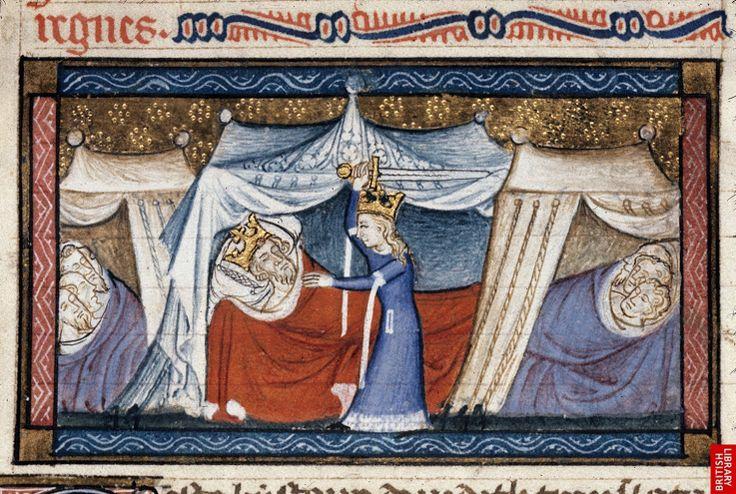 Author Guyart des Moulins  Title Bible historiale complétée moyenne (the 'Bible…