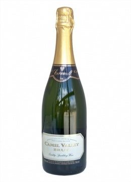 Camel Valley Brut, Sparkling wine from #Cornwall, England. http://www.theedge-cornwall.co.uk/wine-list.html