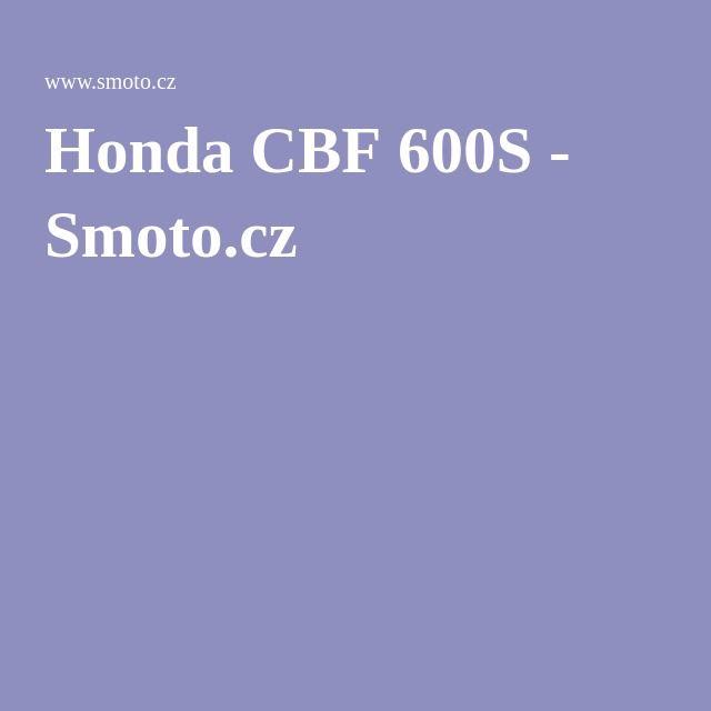Honda CBF 600S - Smoto.cz