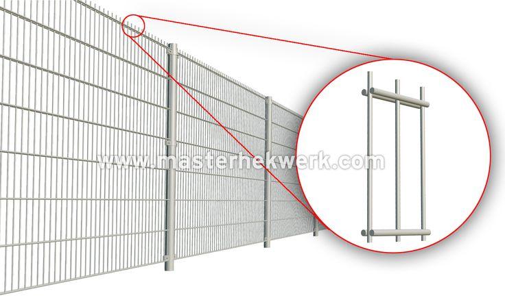 Ideaal als tuinhekwerk zijn dubbelstaafmatten ook wel staalmatten dubbelstaafsmatten of draadmatten genoemd. de mazen zijn 50x200mm en kindveilig. het is een degelijk, onderhoudsarm en veilig hekwerk dat uw tuinafscheiding beschermt tegen indringers. het is eventueel ook geheel dicht te maken met onze zicht dichte invlechtstroken. dsm hekwerk dubbelstaafmatten draadmat panelen, dubbelstaafshekwerk,  dubbeldraads