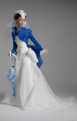 """Gone with the Wind"" Scarlett O'Hara doll. I love this dress. :)"