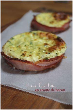 Tartelettes en croûte de bacon (par Donna Hay)