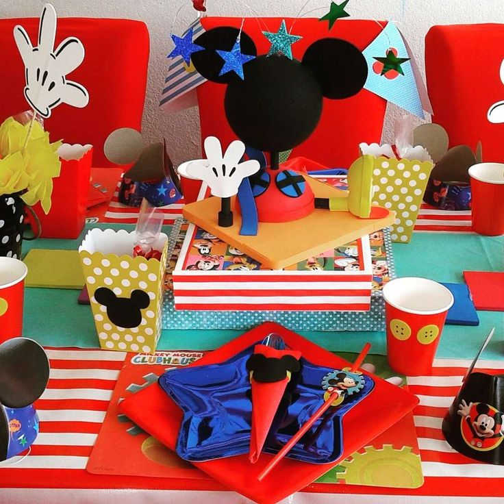 816 Best Mickey Mouse Party Ideas Images On Pinterest