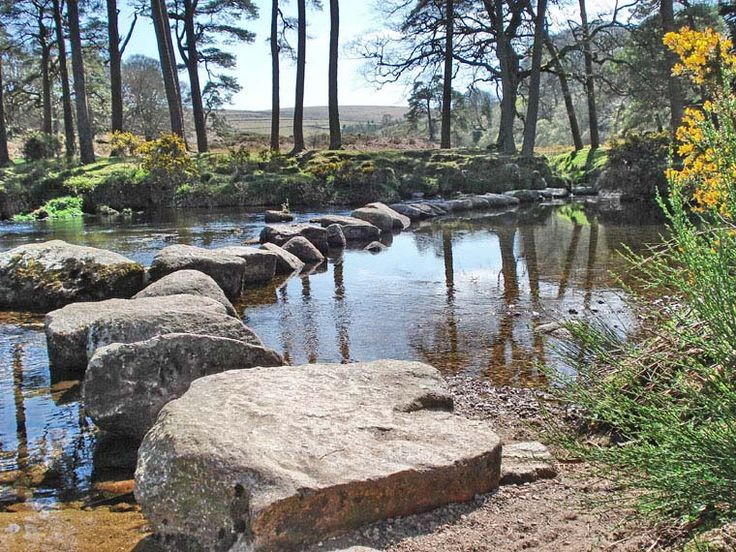 Dunnabridge, one of many ancient river crossings on the moors. Near Hexworthy | Dartmoor National Park | Devon