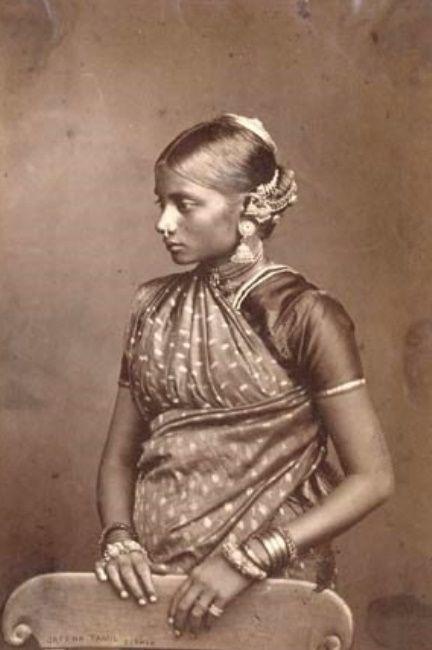 Tamil+Woman+from+Ceylon+(Sri+Lanka)+-+ca.1896