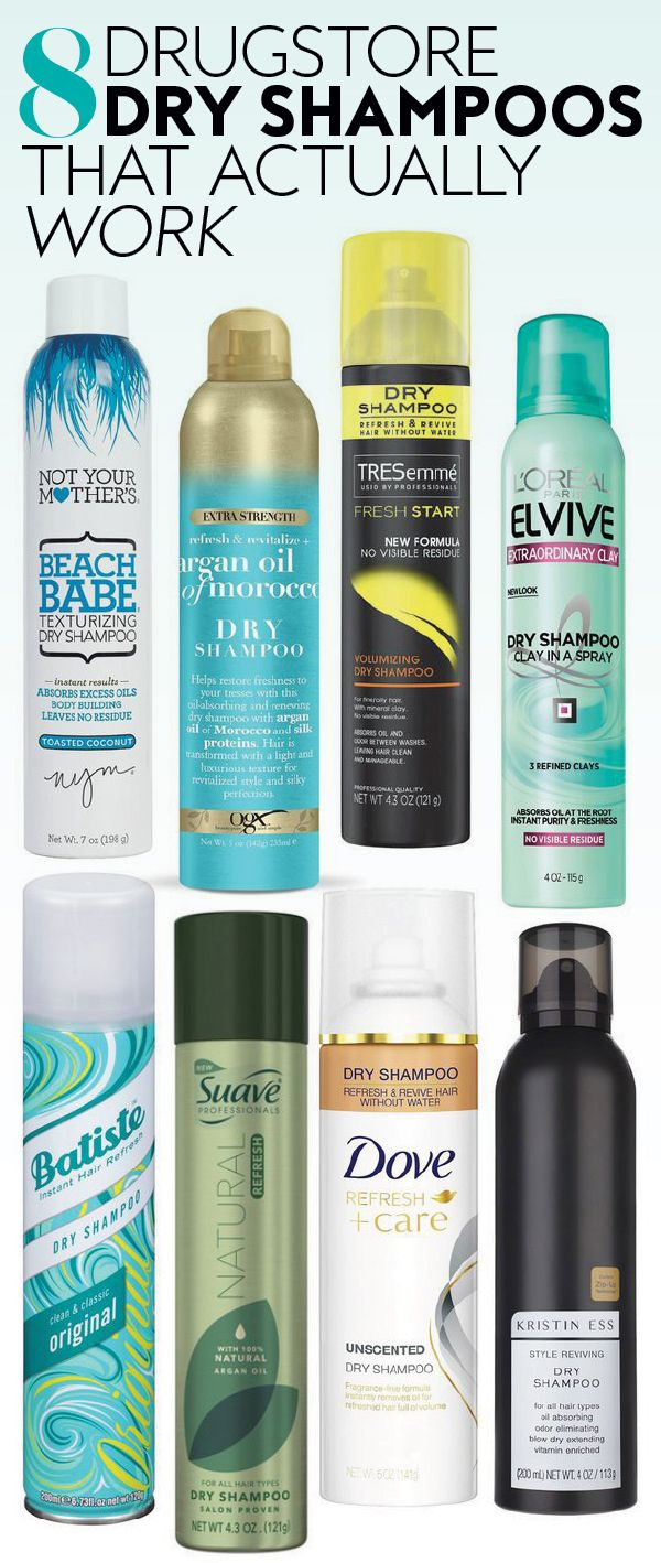 10 Drugstore Dry Shampoos That Actually Work Suave Dry Shampoo