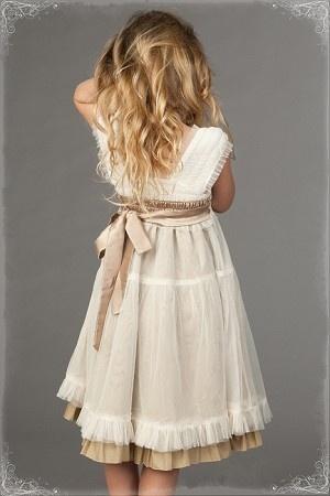 beige & cream juliette dress