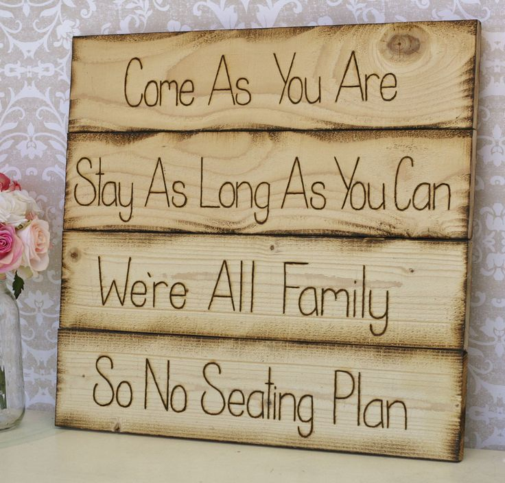 Rustic Wedding Seating Chart Sign. Really like. A little less planning