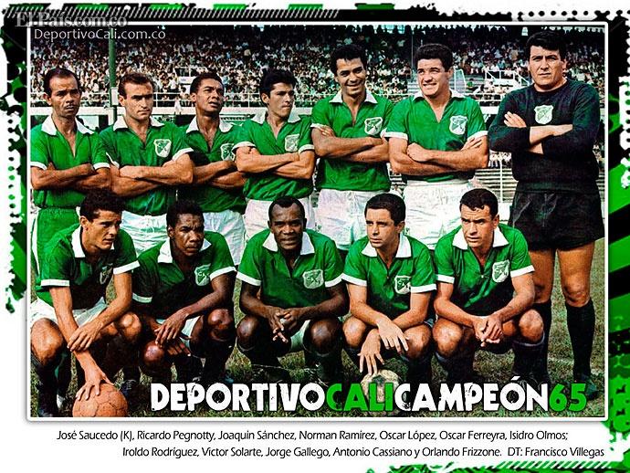 Deportivo Cali 100 Años - Campeon 1965