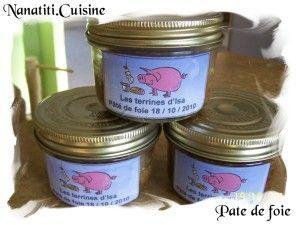 Voici une recette que j'ai réalisée cette semaine, un délice ! Et super simple à faire, Le pâté de foie de porc : Ingrédients: - 500 gr de foie de porc - 500 gr de chair à saucisse - 1 gousse d'ail - 2 échalotes - 1 œuf - Des feuilles de laurier - 1 c....