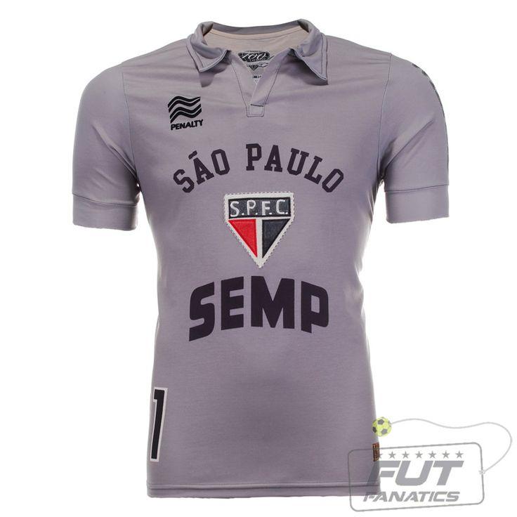 Camisa Penalty São Paulo Goleiro RC Raizes 2013 - Fut Fanatics - Compre Camisas de Futebol Originais Dos Melhores Times do Brasil e Europa - Futfanatics