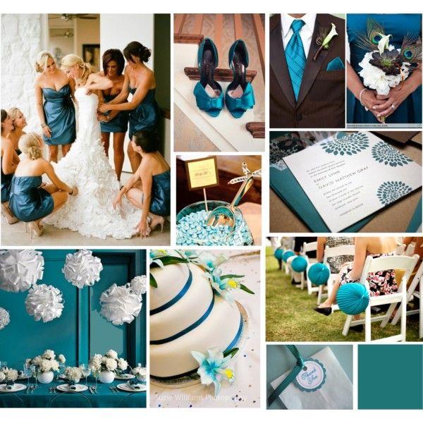 teal wedding @Mandy Bryant Dewey Seasons Bridal