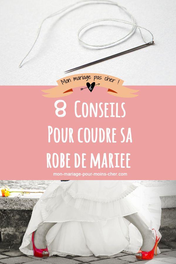 Vous êtes motivée pour coudre votre robe de mariée ? Découvrez mes 8 conseils pour vous aider : choix du patron, des tissus, les détails auxquels penser...