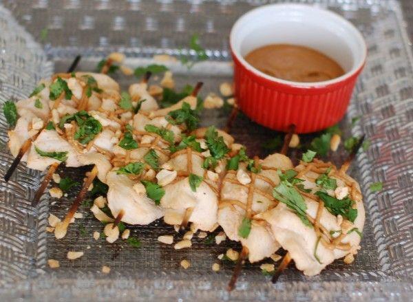Thai Peanut Chicken Satay {Recipe ReDux} | Nutritioulicious