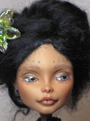 Custom Repaint Mattel Monster High Doll BJD Robecca Steam One Day | eBay