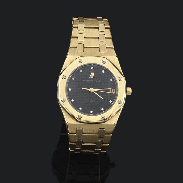 Reloj Audemars Piguet Royal OaK oro con brillantes - Subastas Segre