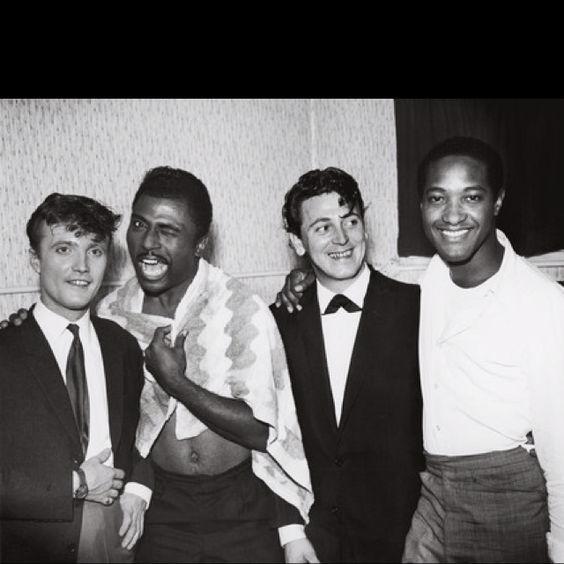 Gene Vincent Little Richards & Jet Harris with Sam Cooke