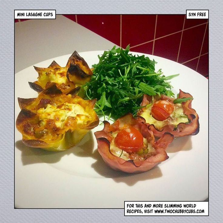 These syn free mini lasagne cups use up any leftover bolognese, and come in a variety of styles. Give them a go! Perfect Slimming World friendly snack. Remember, at www.twochubbycubs.com we post a new Slimming World recipe nearly every day. Our aim is good food, low in syns and served with enough laughs to make this dieting business worthwhile. Please share our recipes far and wide! We've also got a facebook group at www.facebook.com/twochubbycubs - enjoy!