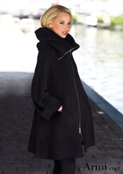 Armi Coat By Ritva Falla Fashion Women Fall Winter