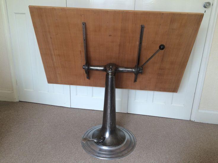 antique drafting table by nike eskilstuna heavenly metal